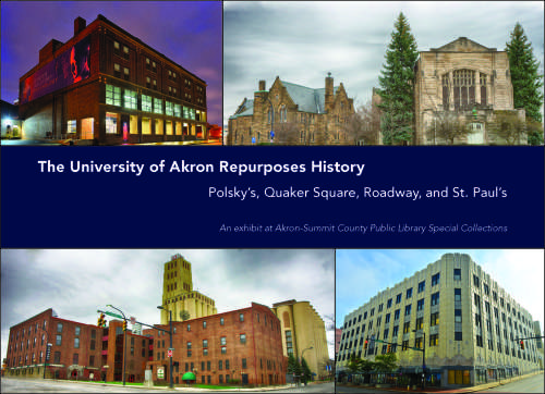 University of Akron Repurposes History Exhibit at Akron-Summit County Public Library Special Collections