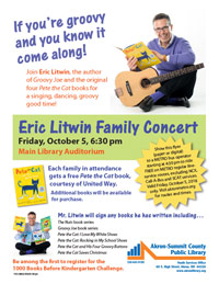 YSO 9865 FLYER Eric Litwin Appearance