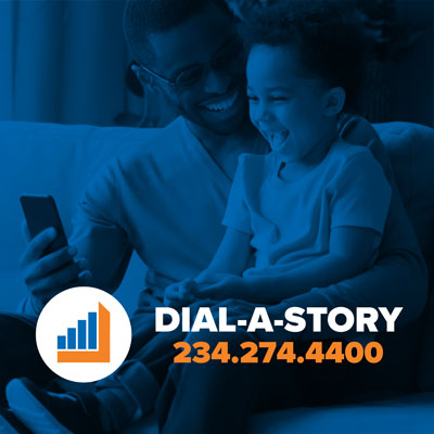Dial A Story graphic